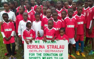 Dankeschön aus Kamerun